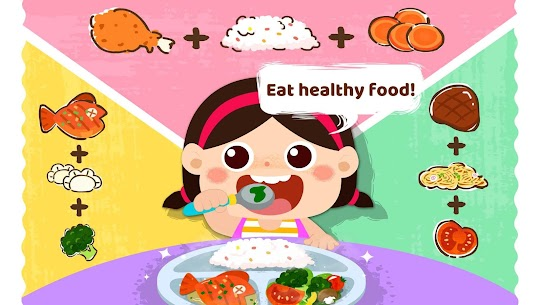 Baby Panda Care  Daily Habits Apk 2