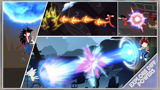 StickDragon Warriors - Stickman Fighter Z Battle  screenshots 3