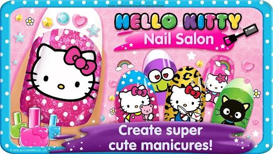 Hello Kitty Nail Salon 1