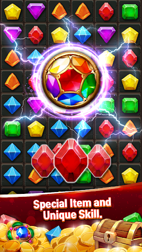 Jewels Cave Crush: Match 3 Puzzle screenshots 3