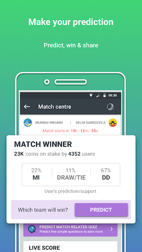 prediction guru™ - live score, sports tip #engvswi screenshot 2