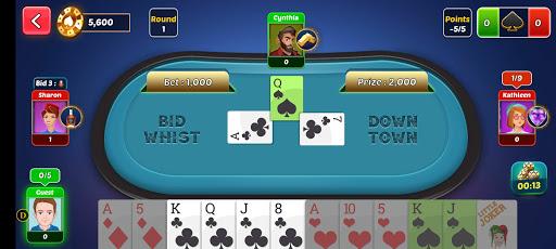 Bid Whist Game - Best Spades Free Card Games apkpoly screenshots 15