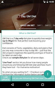 Indian weight loss GM Diet & BMI Check