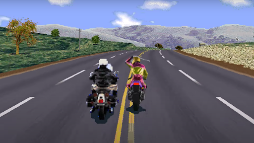 Road Rash like computer game 1.5 screenshots 1