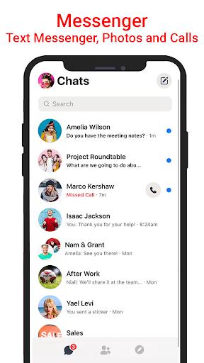 Messenger SMS & MMS android2mod screenshots 1