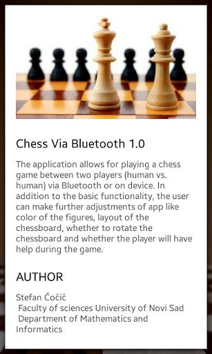 Chess Via Bluetooth  screenshots 2