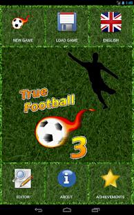 True Football 3 3.7 Screenshots 9