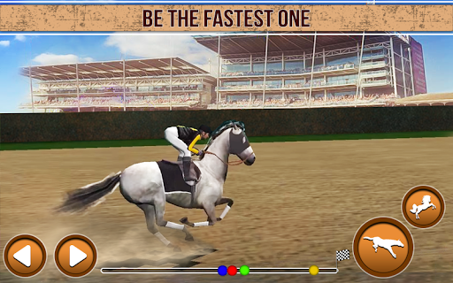 horse racing  : derby horse racing game screenshot 2