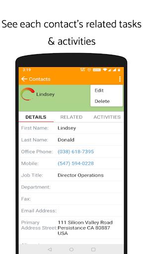 'ValCRM: SuiteCRM Mobile App'  screenshots 5