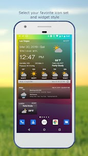 Weather & Clock Widget for Android 2