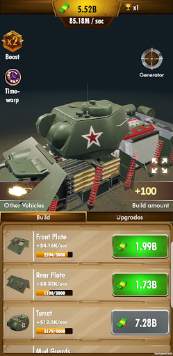 Idle Panzer 1.0.1.016 screenshots 1