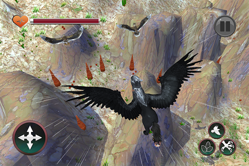 Wild Griffin Family Flying Eagle Simulator  screenshots 11