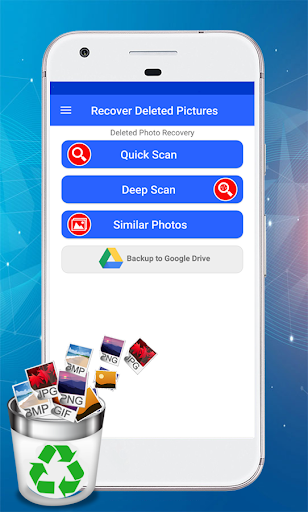 Recover Deleted Pictures - Restore Deleted Photos 4.0.4 Screenshots 1