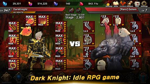 Dark Knight : Idle RPG game 0.1041 screenshots 2