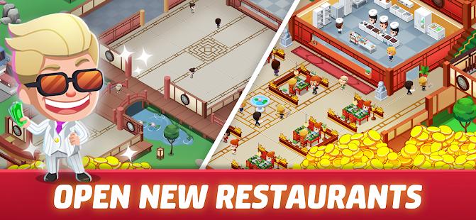 Idle Restaurant Tycoon - Cooking Restaurant Empire Mod Apk