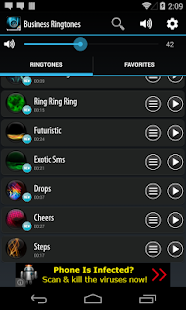 Business-Ringtones Screenshot