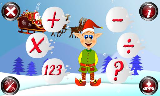 Christmas Games Math Santa 2.2 screenshots 1