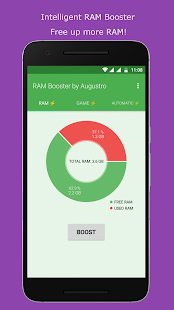 RAM & Game Booster by Augustro (67% OFF) Screenshot
