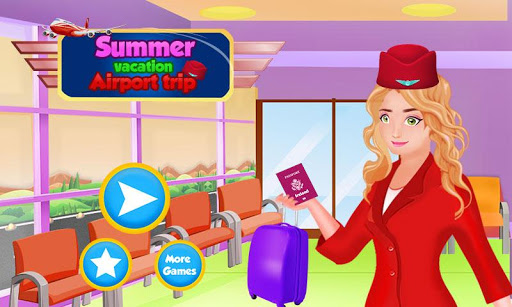 Summer Vacation Airport Trip: Flight Attendant 1.0.5 screenshots 13