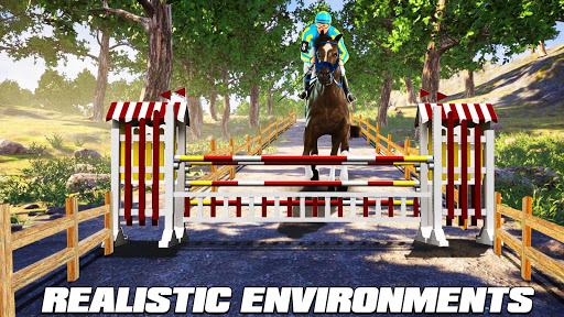 Horse Riding Simulator 3D : Jockey Mobile Game apktram screenshots 10