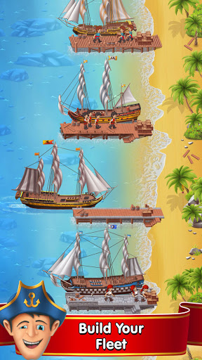 Pocket Ships Tap Tycoon: Idle Seaport Clicker apkpoly screenshots 2