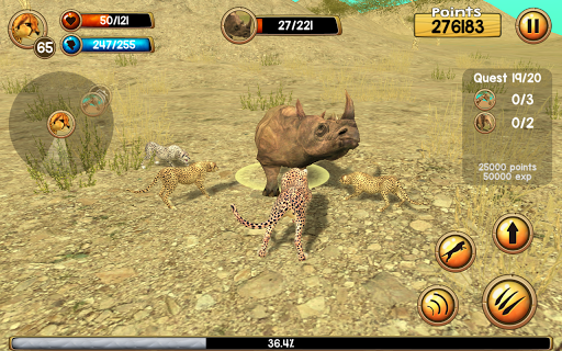 Wild Cheetah Sim 3D screenshots 2