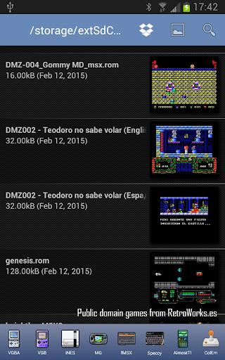 fMSX - Free MSX Emulator  screenshots 11