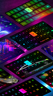 LED Keyboard - RGB Lighting Keyboard, Emojis, Font 6.1.19 Screenshots 10