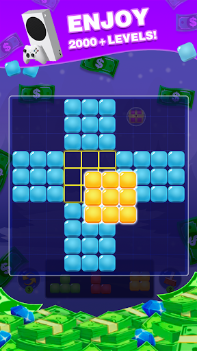 Block Puzzle: Lucky Game apkpoly screenshots 5