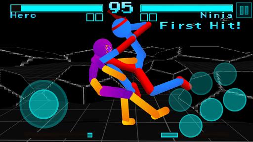 Stickman Fighting: Neon Warriors screenshots 7