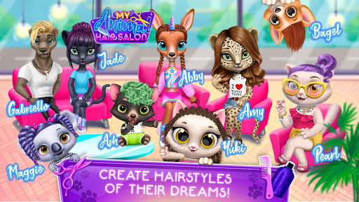 My Animal Hair Salon - Style, Create & Experiment 5.1.7 screenshots 7