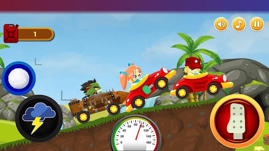 Mini Fun Climb Race - Jeux de course de voitures à plateforme