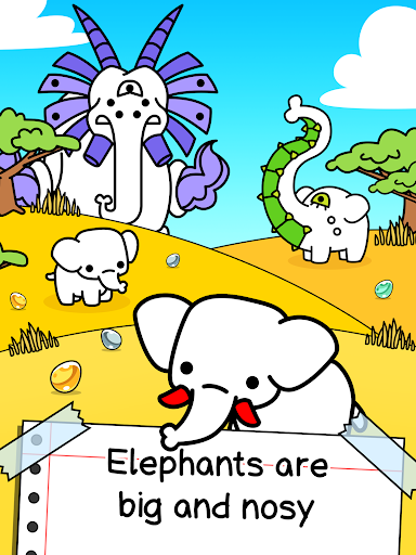 Elephant Evolution - Create Mammoth Mutants 1.0.2 screenshots 9