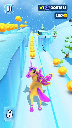 Magical Pony Run - Unicorn Runner apkpoly screenshots 23