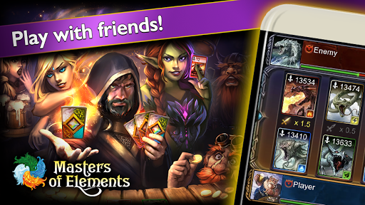 Masters of Elementsuff0dCCG game + online arena & RPG  screenshots 4