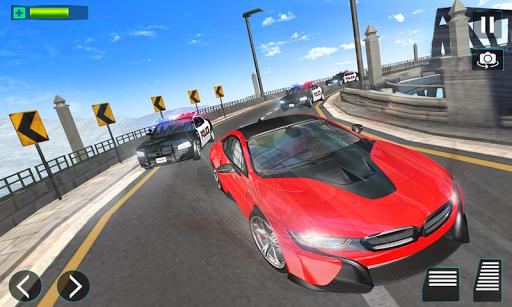 police chase car driving simulator : cops car game screenshot 2
