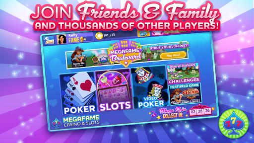 Mega Fame Casino - Slots & Poker Games androidhappy screenshots 2