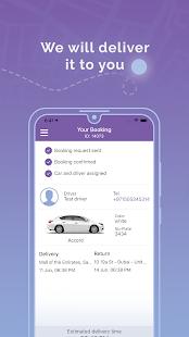 eZhire - Rental Car, Delivered #on-demand