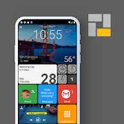 Square Home - Launcher : Windows style