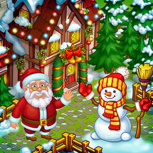 Baixar Farm Snow: Happy Christmas Story With Toys & Santa para Android