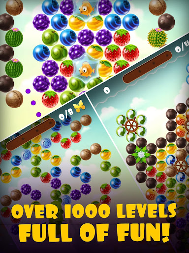 Fruity Cat -  bubble shooter! filehippodl screenshot 10