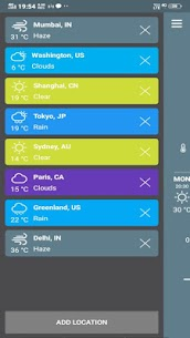 Live Forecast – Weather App Pro 1 (MOD + APK) Download 1
