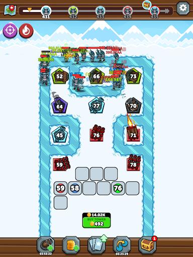 Merge Kingdoms - Tower Defense apkpoly screenshots 24