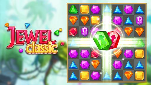 Jewels Classic - Jewel Crush Legend Apkfinish screenshots 7