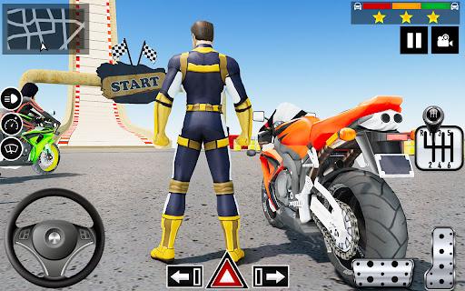 Impossible Stunts Bike Racing Games 2018: Sky Road  screenshots 3