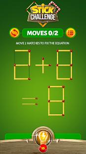 Stick Math Games – Matchsticks Logic Math Puzzle
