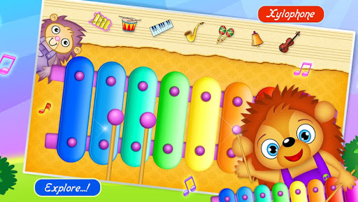123 Kids Fun Music Games Free modiapk screenshots 1