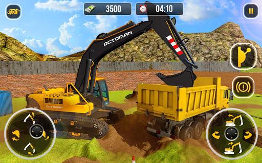 Heavy Excavator Crane - City Construction Sim 2020 1.1.3 screenshots 6