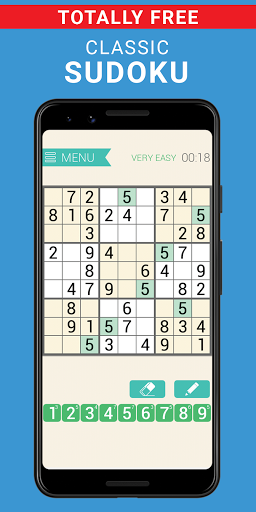Sudoku classic | Free puzzle game | Easy sudoku 3.8.3 screenshots 1