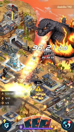 Godzilla Defense Force  screenshots 1